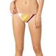 Fox Momentum Side Tie Bikini Donna rosso/colorato